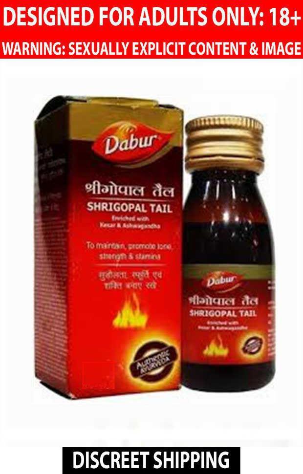 Dabur Shrigopal Tail Pack of 4 x 50ml