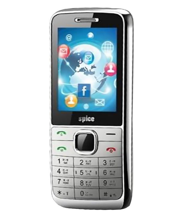 Spice Boss M 5364n Silver Feature Phone Online At Low