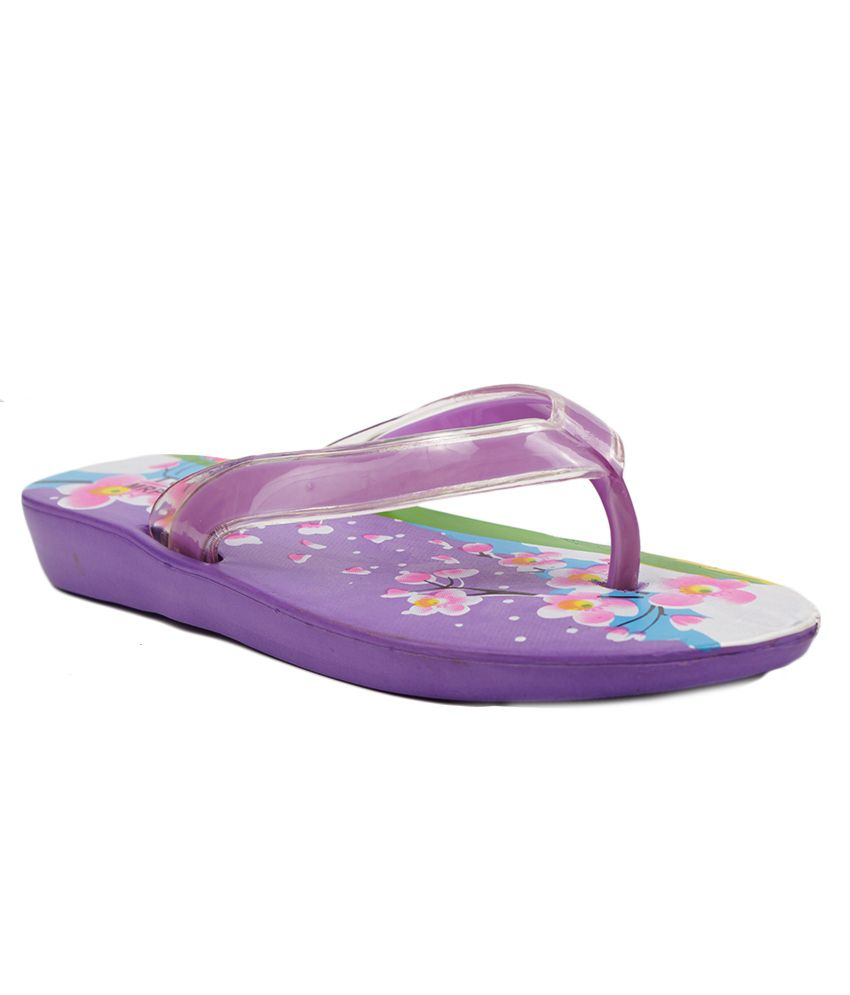 Aalishan Purple Eva Slippers