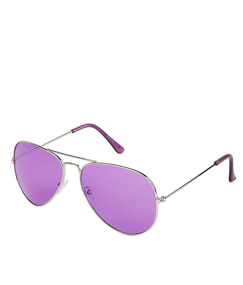 Incraze Silver Cr Lens Aviator Sunglass