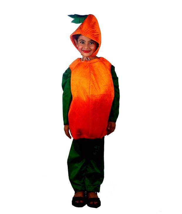 SBD Orange Fruit Fancy Dress Costume