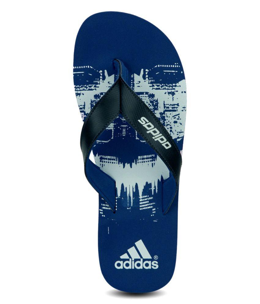 749fa887590df cheap adidas blue flip flops