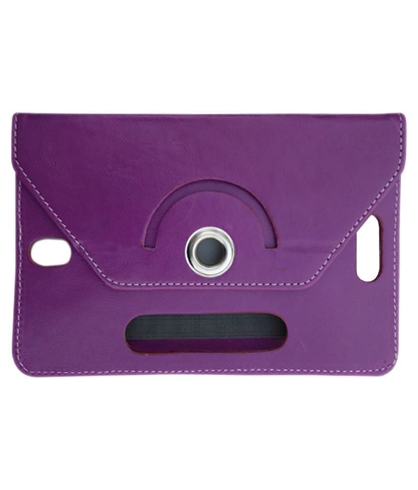 Fastway Flip Stand Cover for Hcl Me V1 Tab 7 - Purple