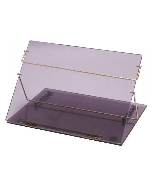 rasper acrylic table top elevator writing table desk standard size rh snapdeal com