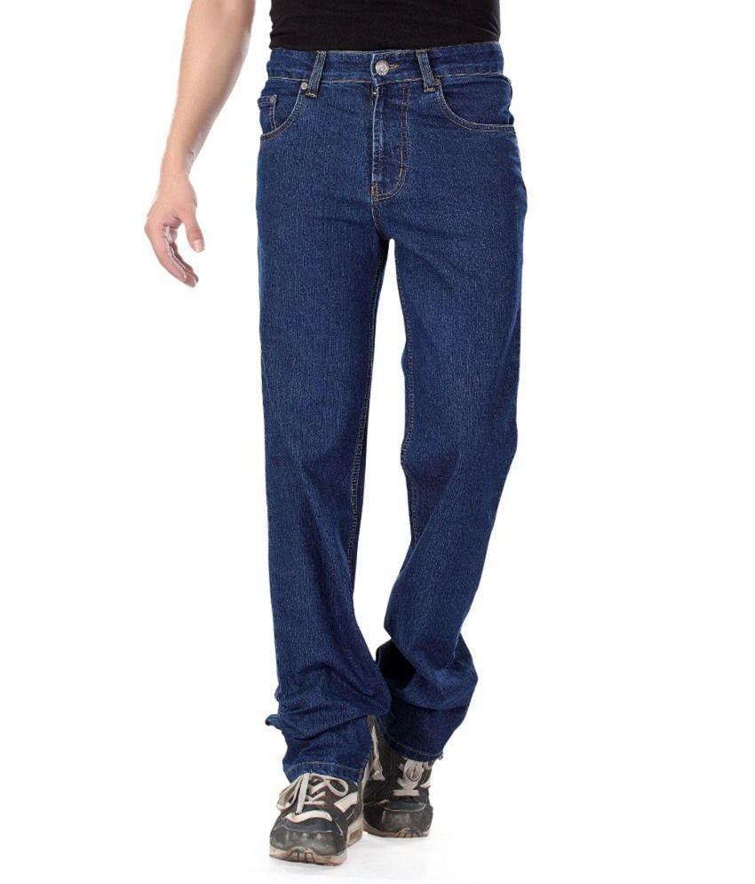 Vagus Blue Regular Fit Stretchable Jeans