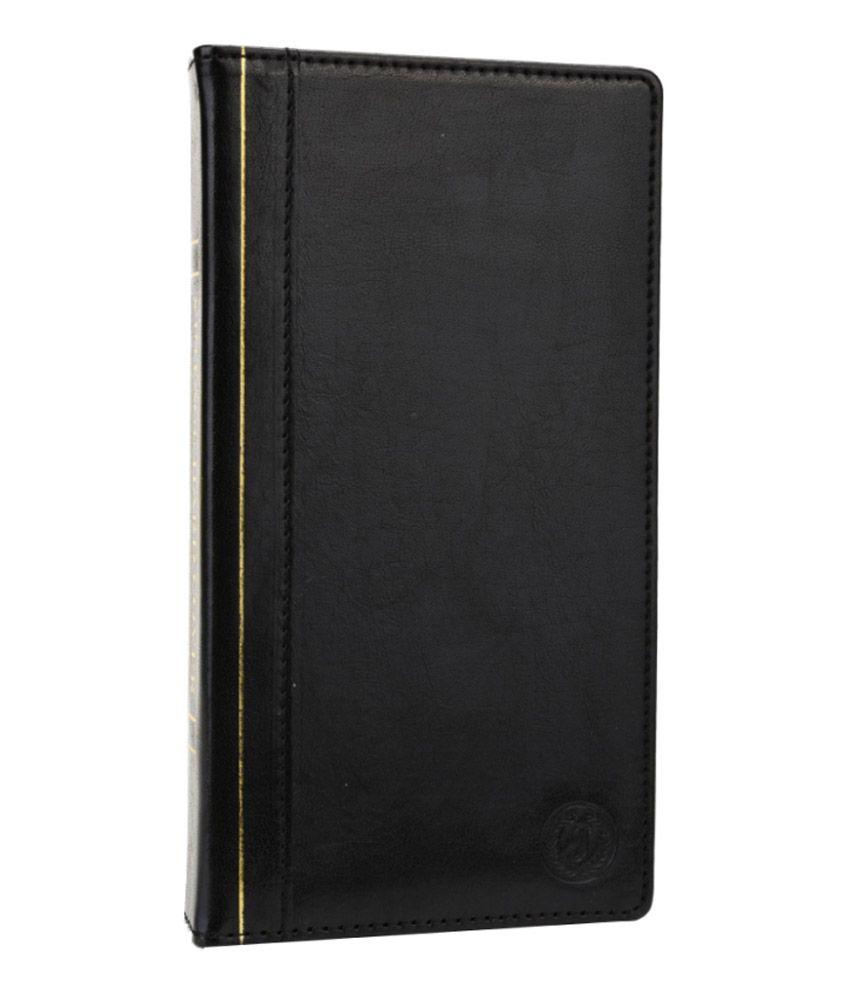 Jo Jo Pouch Flip Case For Huawei Activa 4g - Black
