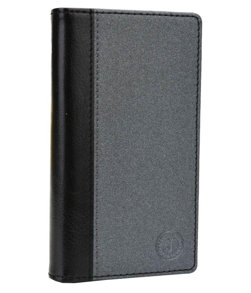 Jo Jo Pouch Flip Case For Asus Zenfone 5 Lite A502cg - Black