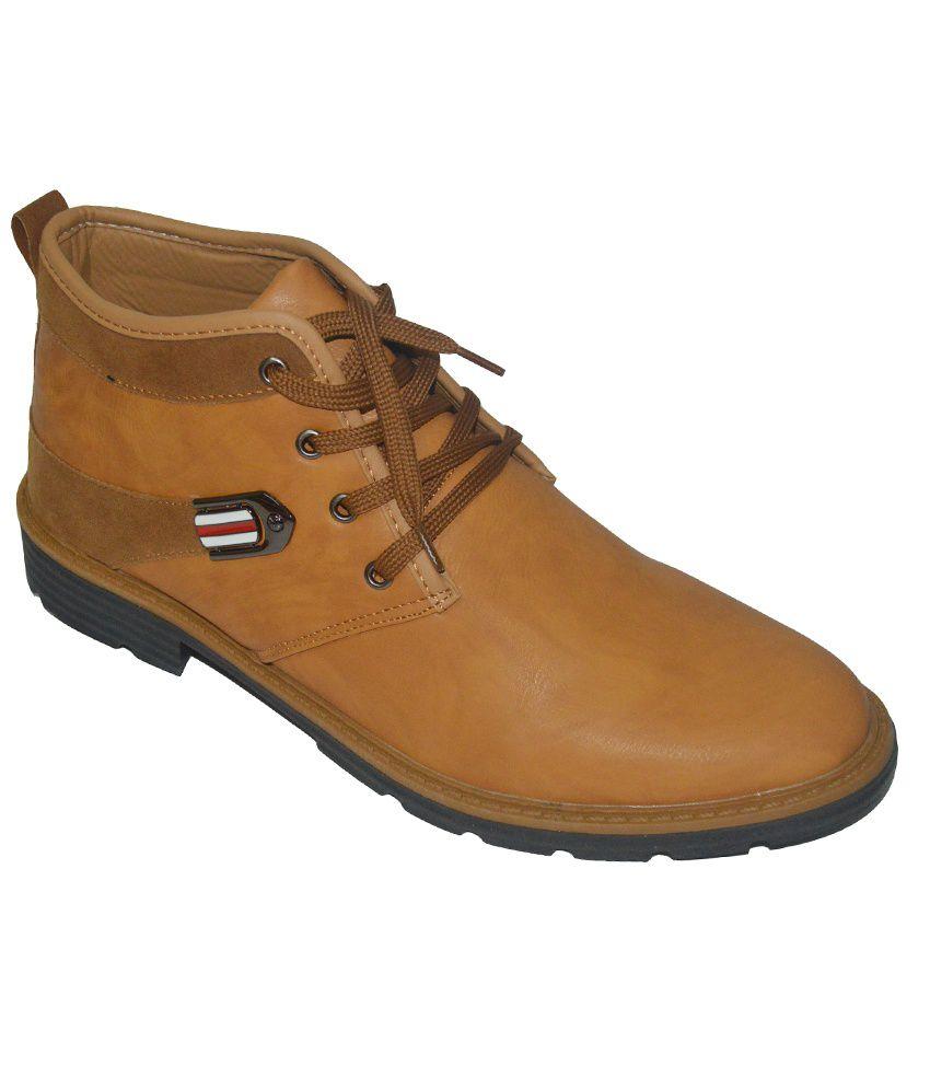 Jones Smith Tan Boots