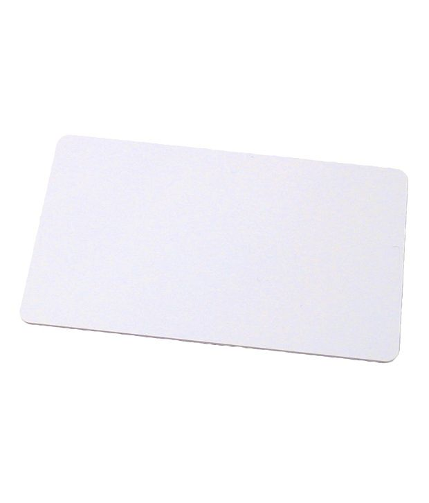 ID Tech Solutions White Plastic RFID Thin Proximity Cards - Set of 200