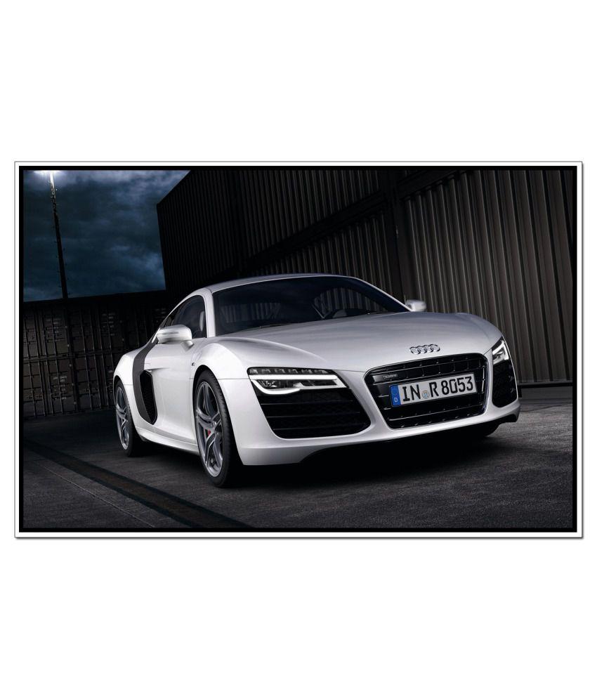 Shopolica Audi Car Poster: Buy Shopolica Audi Car Poster