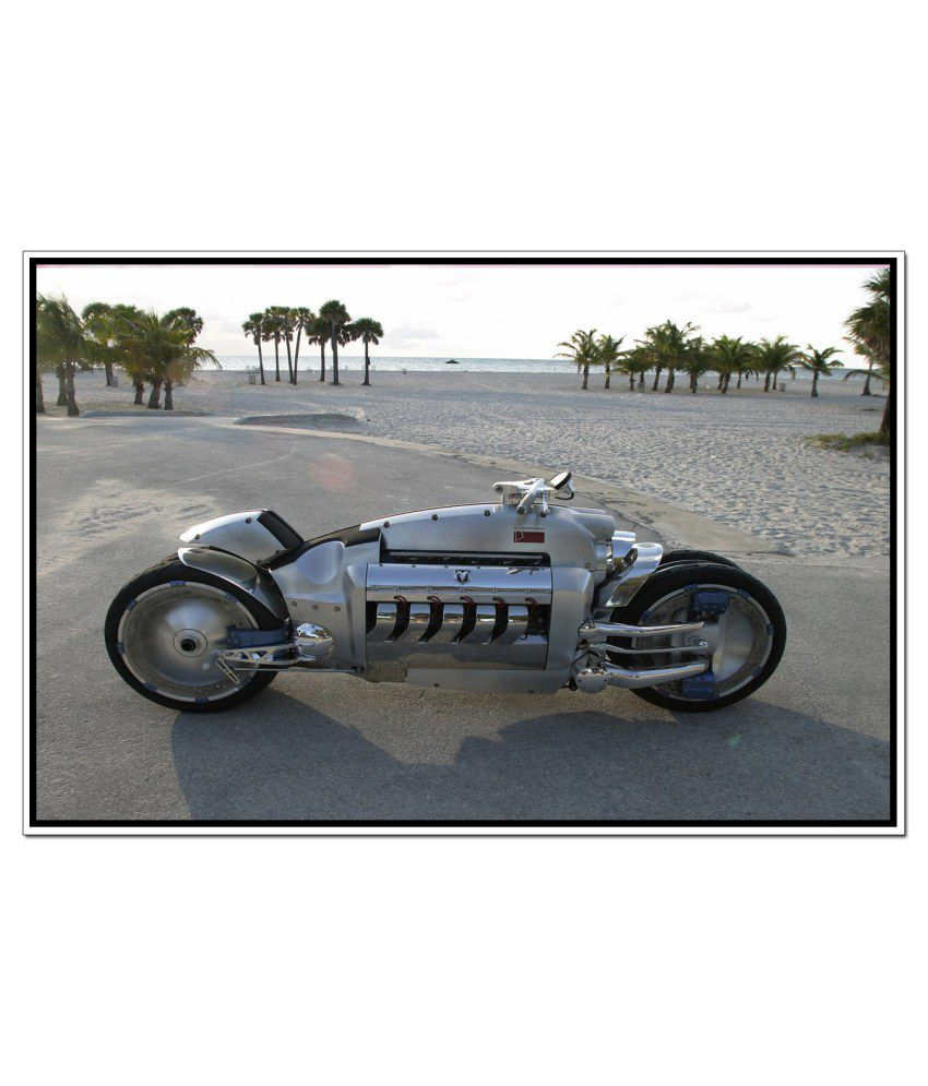 Shopolica Dodge Tomahawk Bike Poster: Buy Shopolica Dodge Tomahawk Bike Poster at Best Price in ...