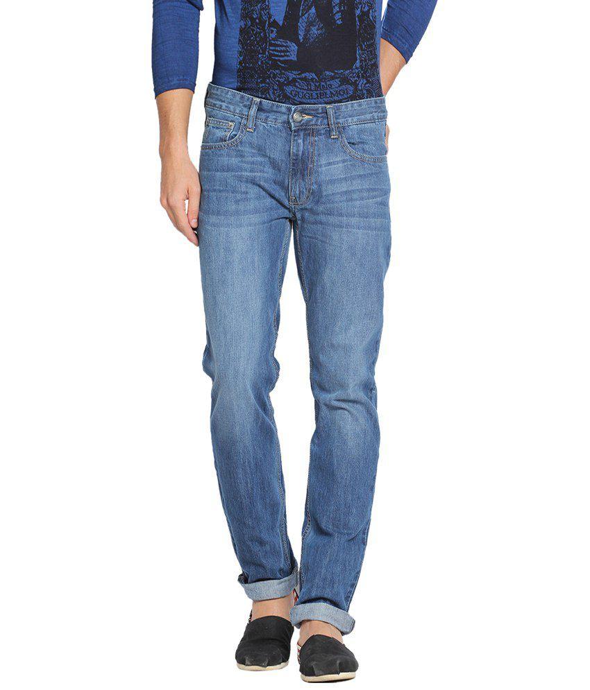 Locomotive Superb Blue Slim Fit Jeans for Men