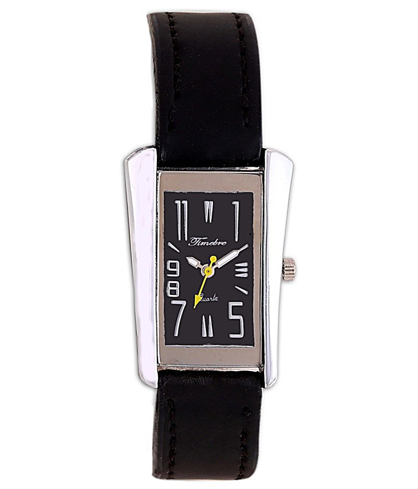 Timebre Women Black Analog watch