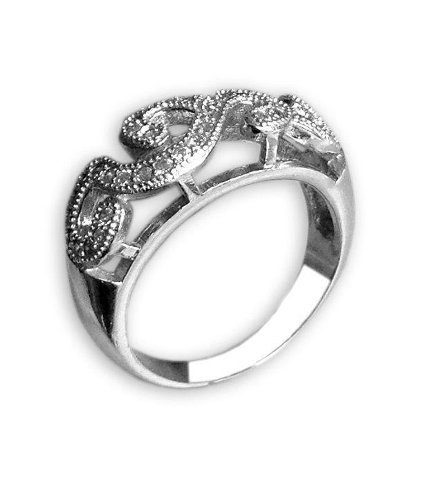 Milan 22Kt Silver Cute Silver Ring