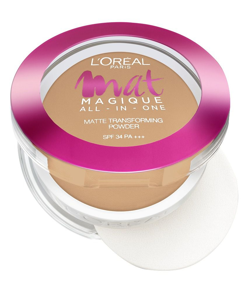 L'Oreal Paris Matte Magique All-In-One Pressed Powder