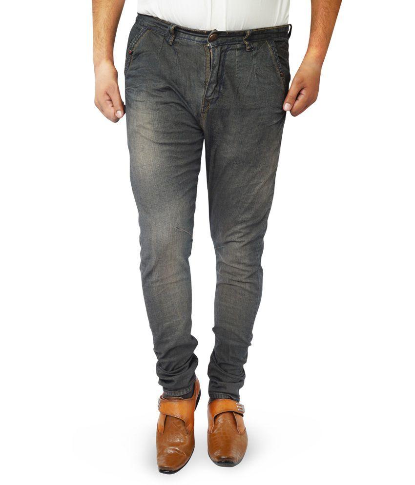 ADYBird Black Cotton Faded Jeans