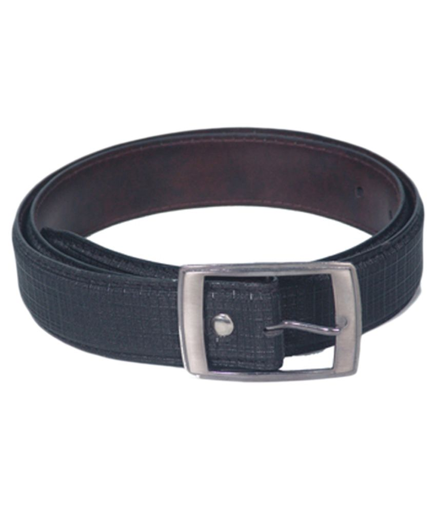 Highway Craze Black Non Leather Casual Belt