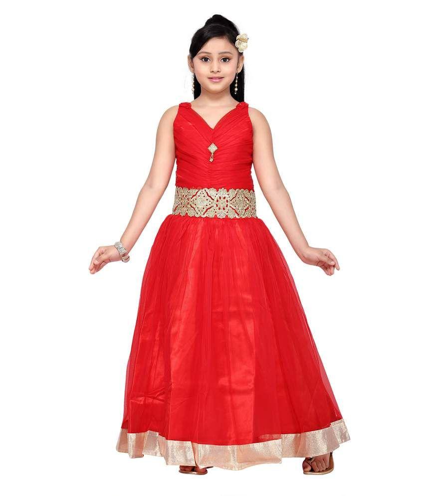 aarika girls party wear gown buy aarika girls party wear