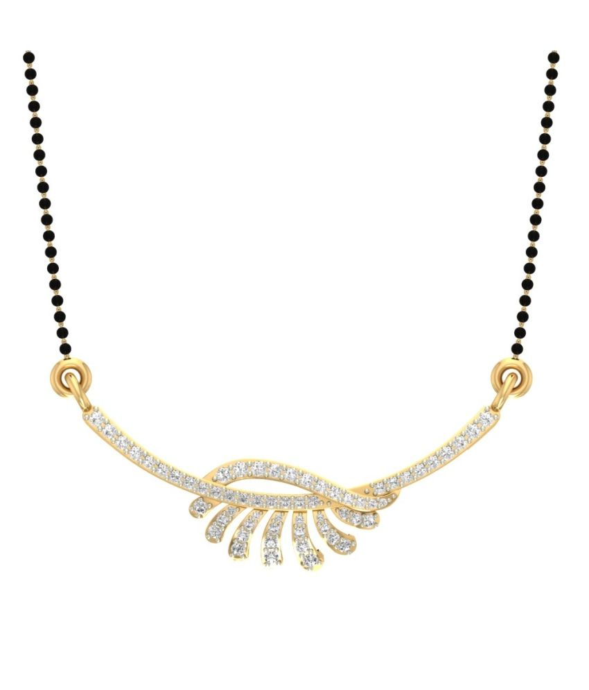 Jewels5 14Kt Gold Contemporary Mangalsutra