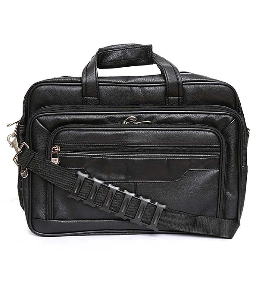 Aazido Black Laptop Bag