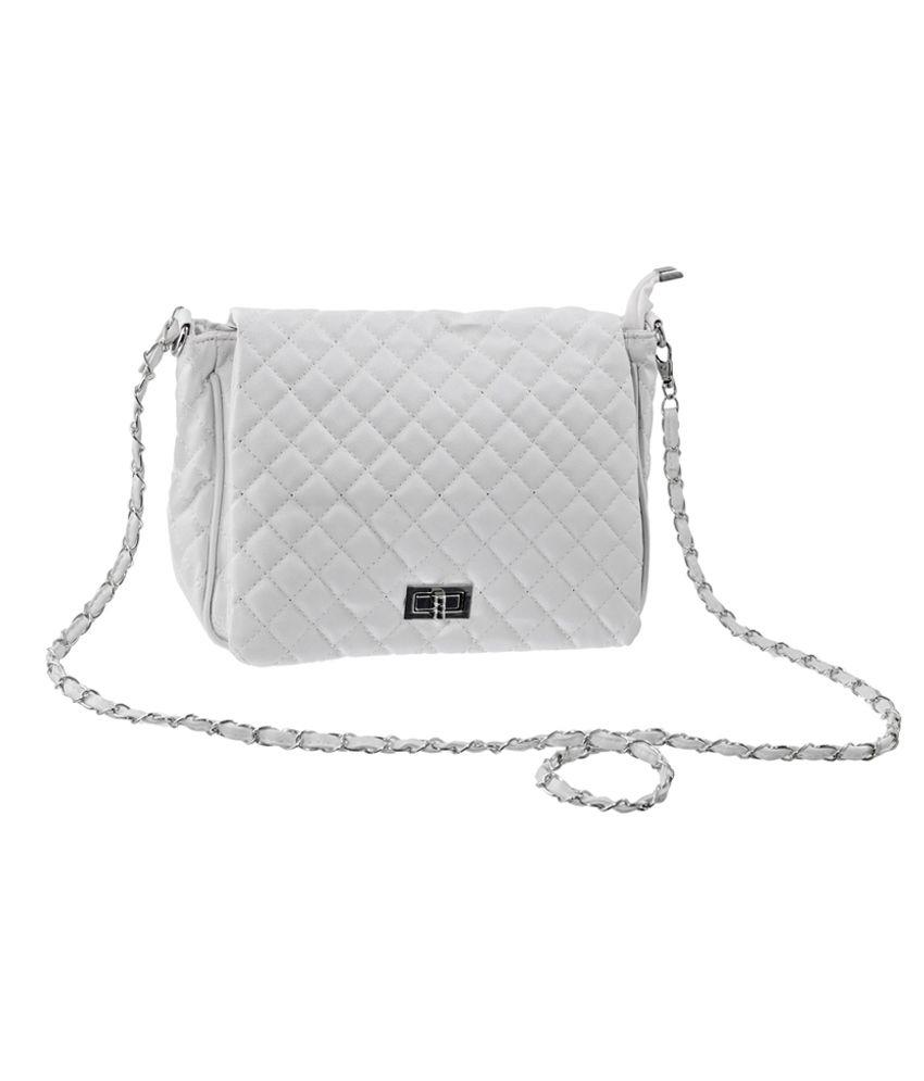 Lee Italian White Sling Bag - Buy Lee Italian White Sling Bag ...
