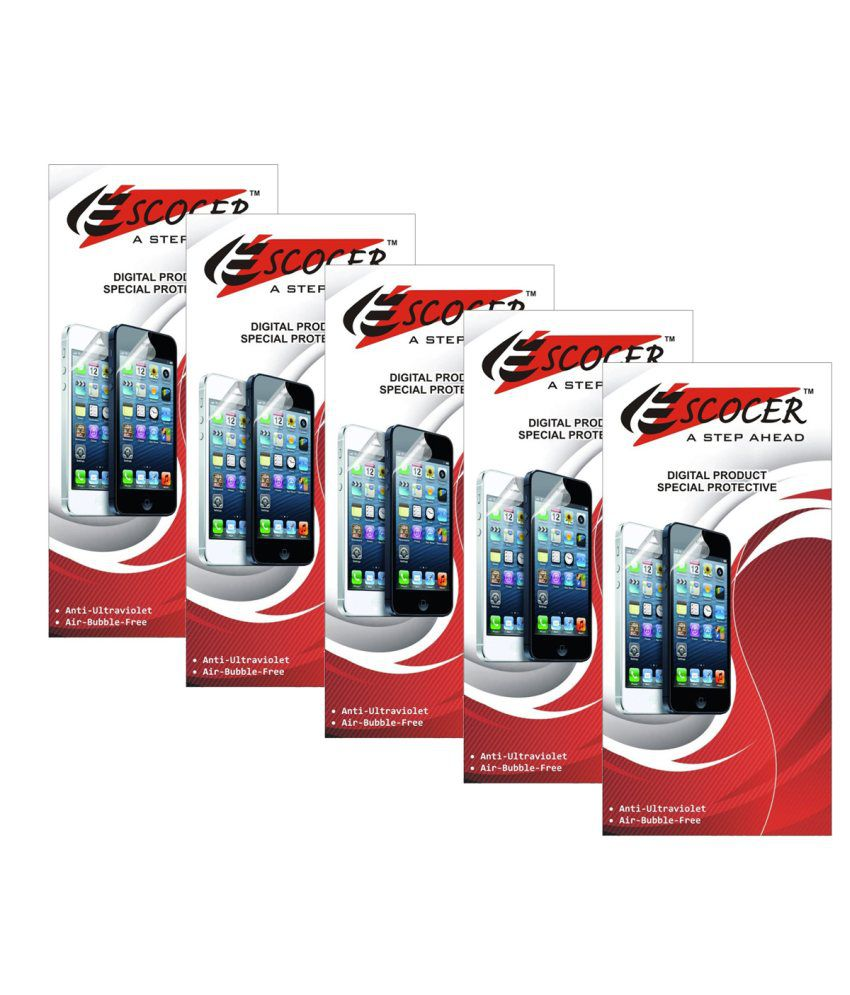 Samsung Galaxy Note 3Neo SM-N75-Set Of 10 Screen Guard by Escocer