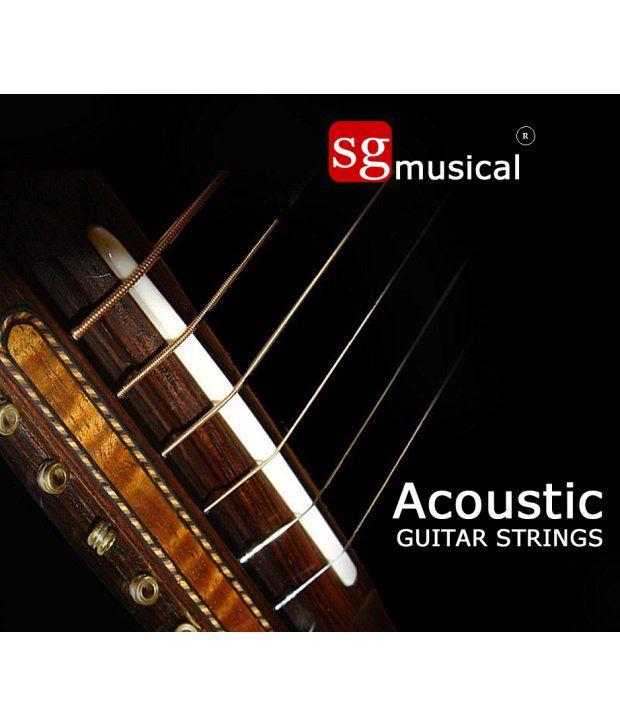 Sg Musical Acoustic Guitar Strings
