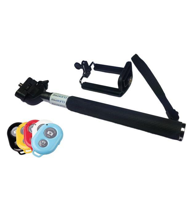 Click Pro ClickPro Selfie Stick + Bluetooth Remote