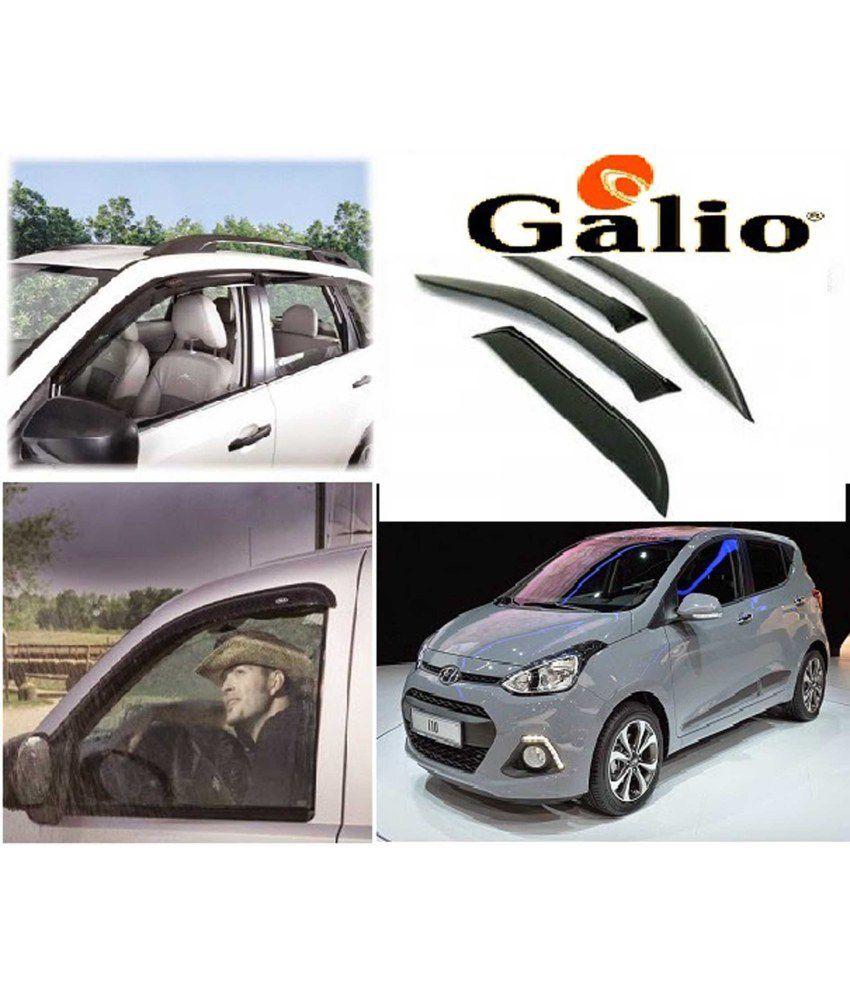 Galio Car Rain Wind Door Visor Side Window Deflector For Hyundai I10 GRAND   Buy Galio Car Rain Wind Door Visor Side Window Deflector For Hyundai I10  GRAND ... 8bd4f1e529f