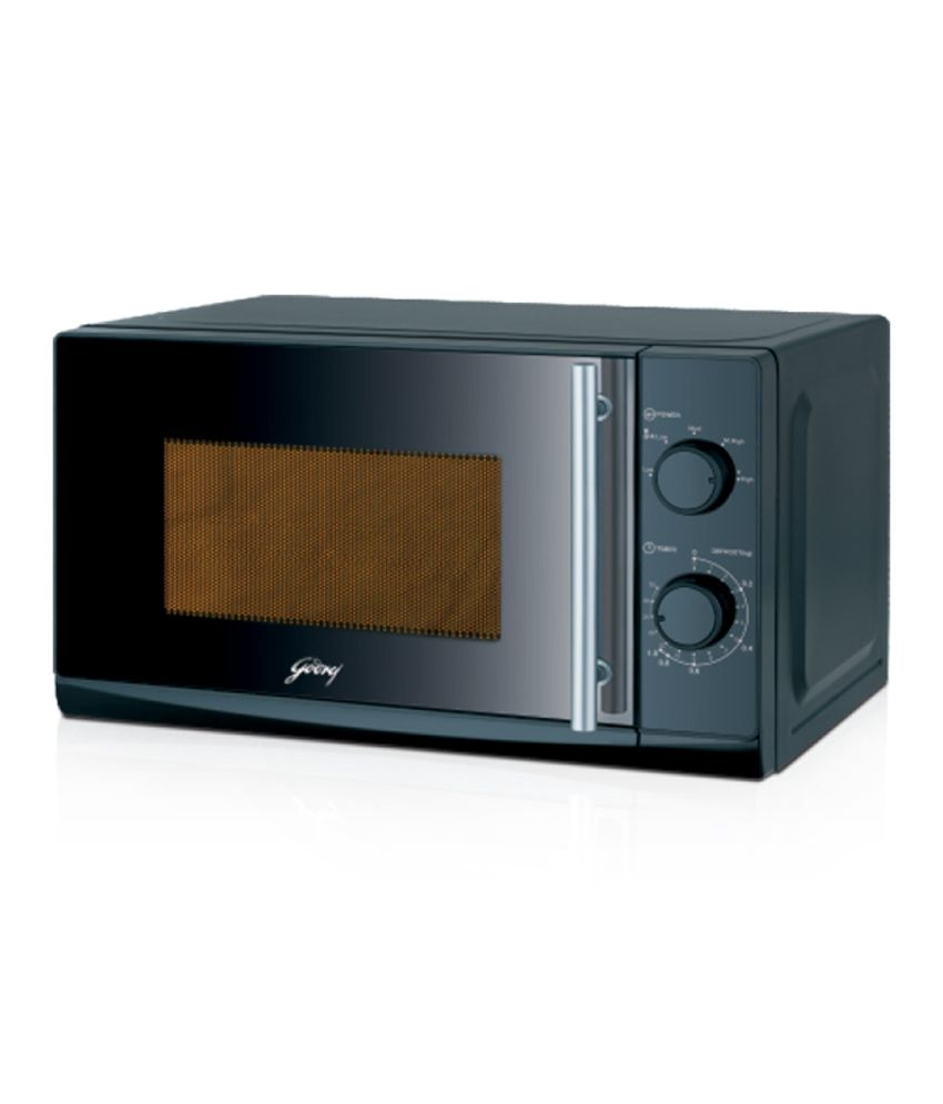 Solo Microwave Oven Indian Recipes: Godrej 20 LTR GMX 20SA2 BLM Solo Microwave Oven Black