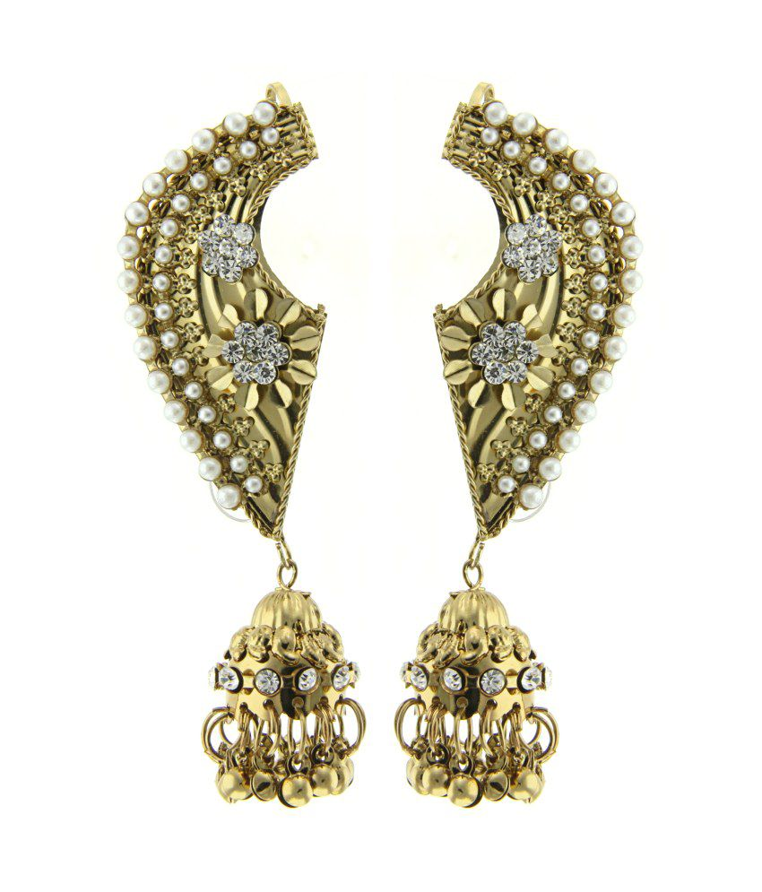 Tradisyon Bollywood Inspired Earcuff Jhumki By Kaizer