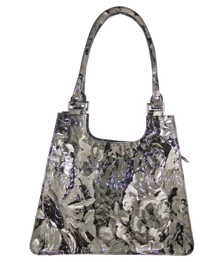 Abhay Enterprises Pvt Ltd. Gray Shoulder Bag