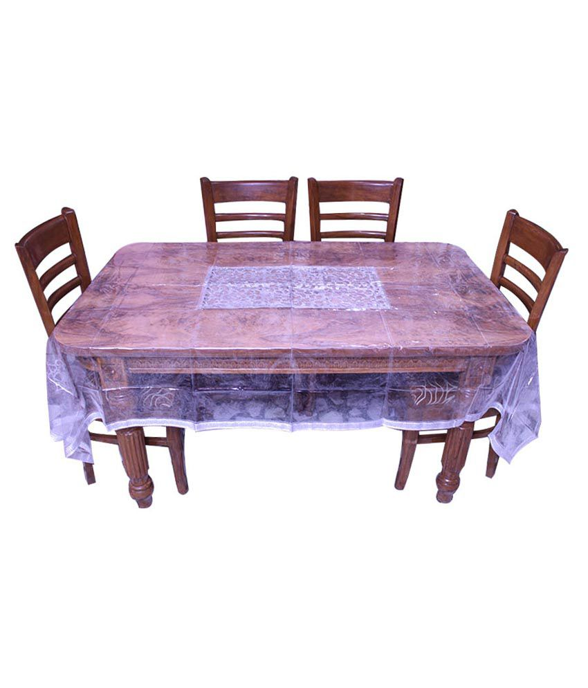 E-retailer Silver Traditional 8 Seater Dinning Table Cover