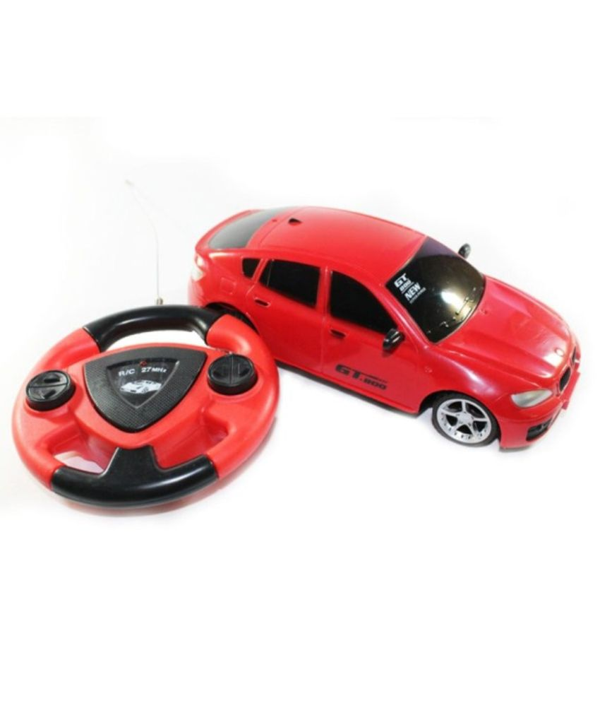 Little Grin Little grin Jackmean Remote Control Car Toy for Kids Red