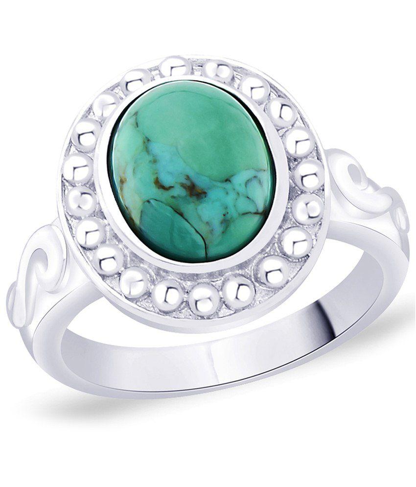 Peora 92.5 Sterling Silver Enamel Ring for Women