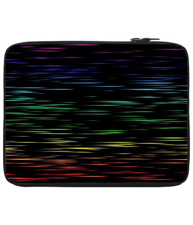 Snoog Multicolour Laptop Sleeve