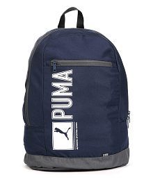 Puma Navy and Black Backpack