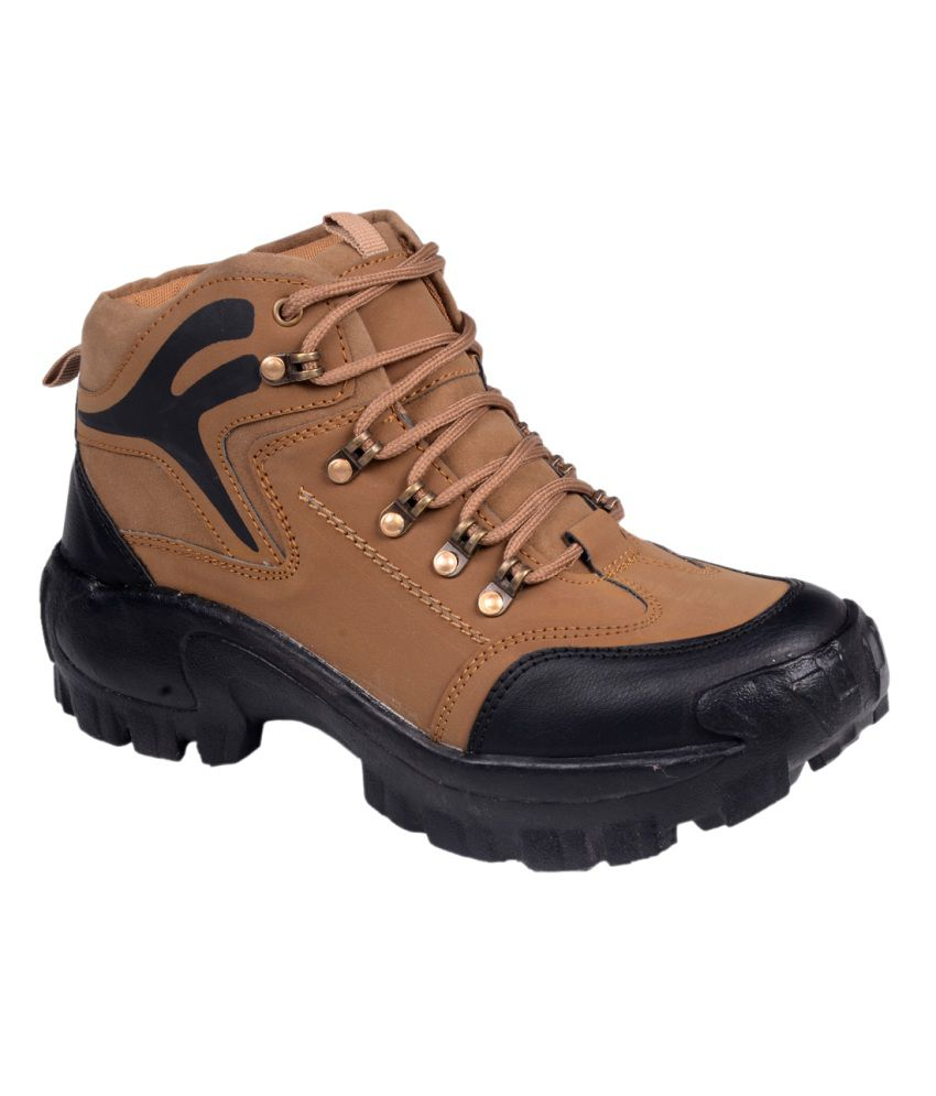 CNS Shoes Brown Boots