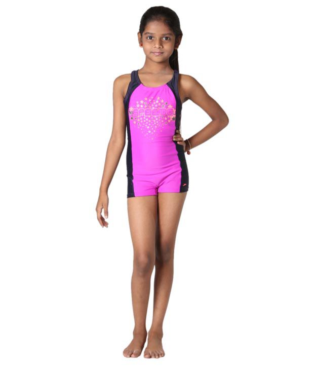 Indraprastha Lycra Spandex Swimwear For Female/ Swimming Costume