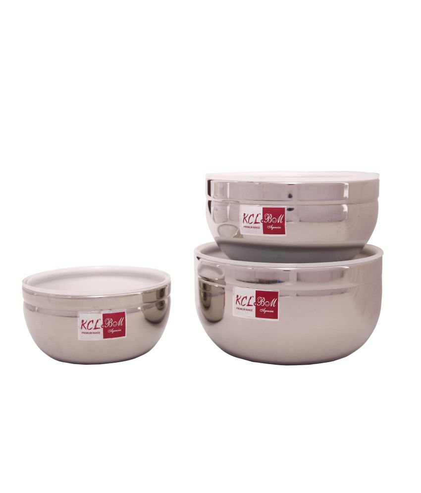 98ecd73dd9e KCL Stainless Steel Food Containers  Buy Online at Best Price in India -  Snapdeal