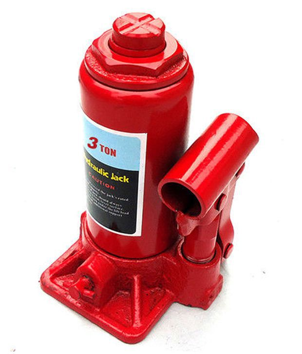 Cp Bigbasket 3 Ton Hydraulic Bottle Car Jack With 1 Year Replacement Warranty