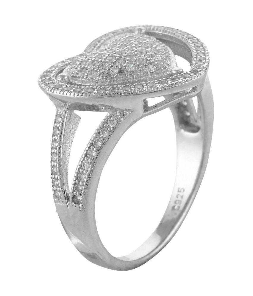 Define Jewellery Heart  Designer  Ring