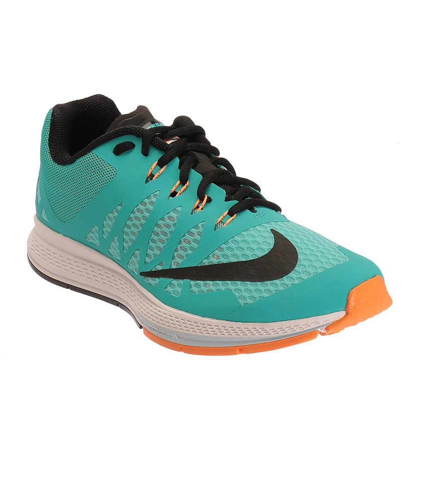 sale retailer 991a4 80d5f Nike Air Zoom Elite 7 Aqua Blue and Black Sports Shoes