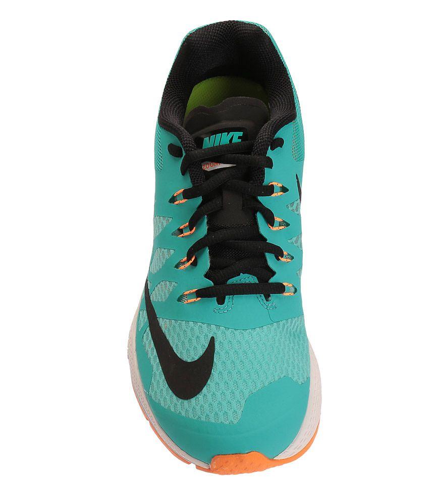 c2d0e09996bbf Nike Air Zoom Elite 7 Aqua Blue and Black Sports Shoes - Buy Nike ...