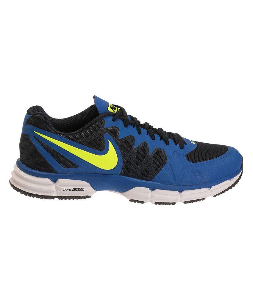 purchase cheap 8480b f4418 ... Nike Dual Fusion Tr 6 Blue Sports Shoes ...