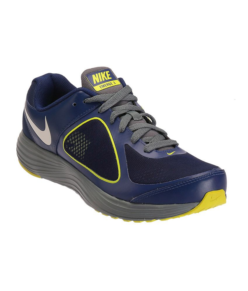 Nike Emerge 3 Blue Sports Shoes - Buy Nike Emerge 3 Blue Sports Shoes  Online at Best Prices in India on Snapdeal 99aa9a8d4f