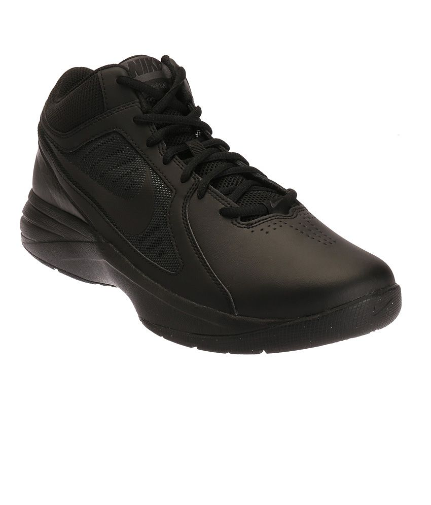 Overplay Viii Black Sports Shoes