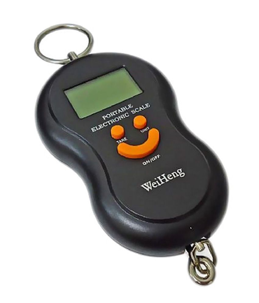 Snaptic Smiley 50kg Digital Luggage Weighing Scale