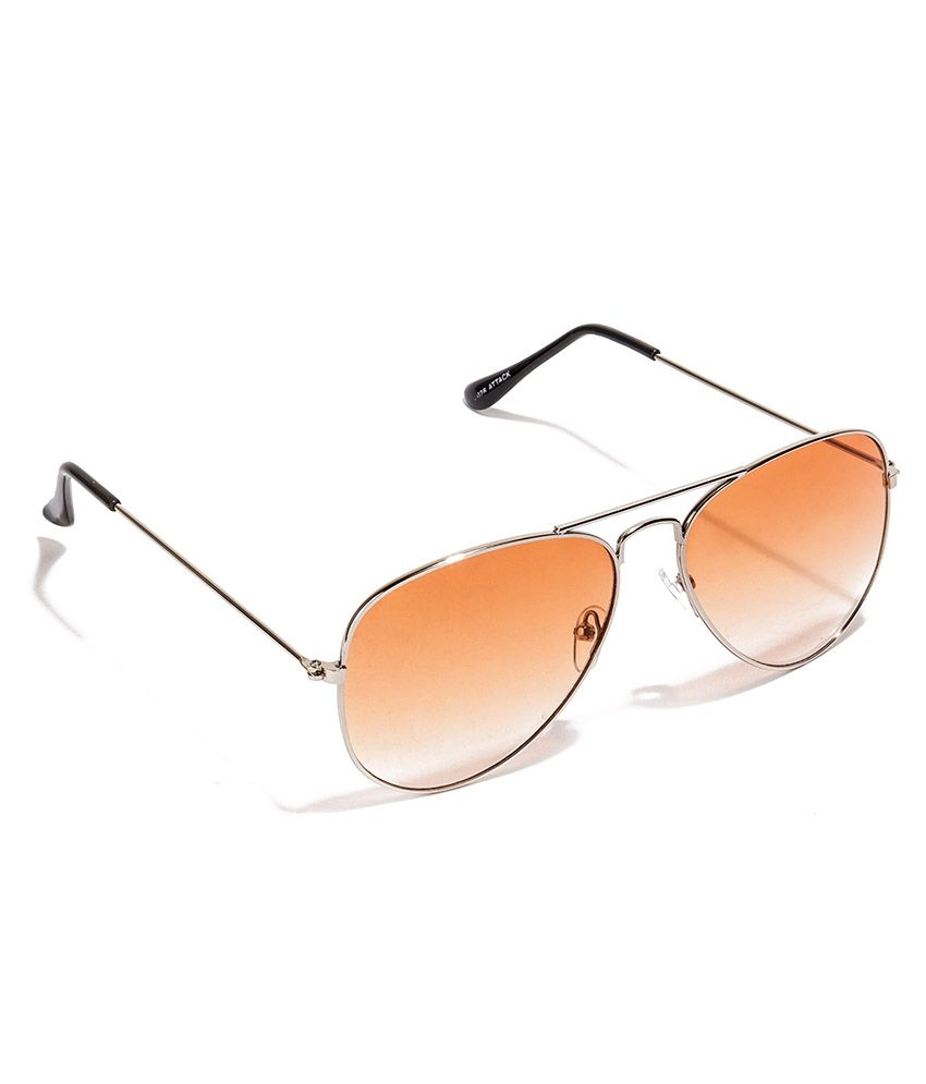 5355f78193 Allen Cate Orange Dual Shade Aviator Sunglass - Buy Allen Cate ...