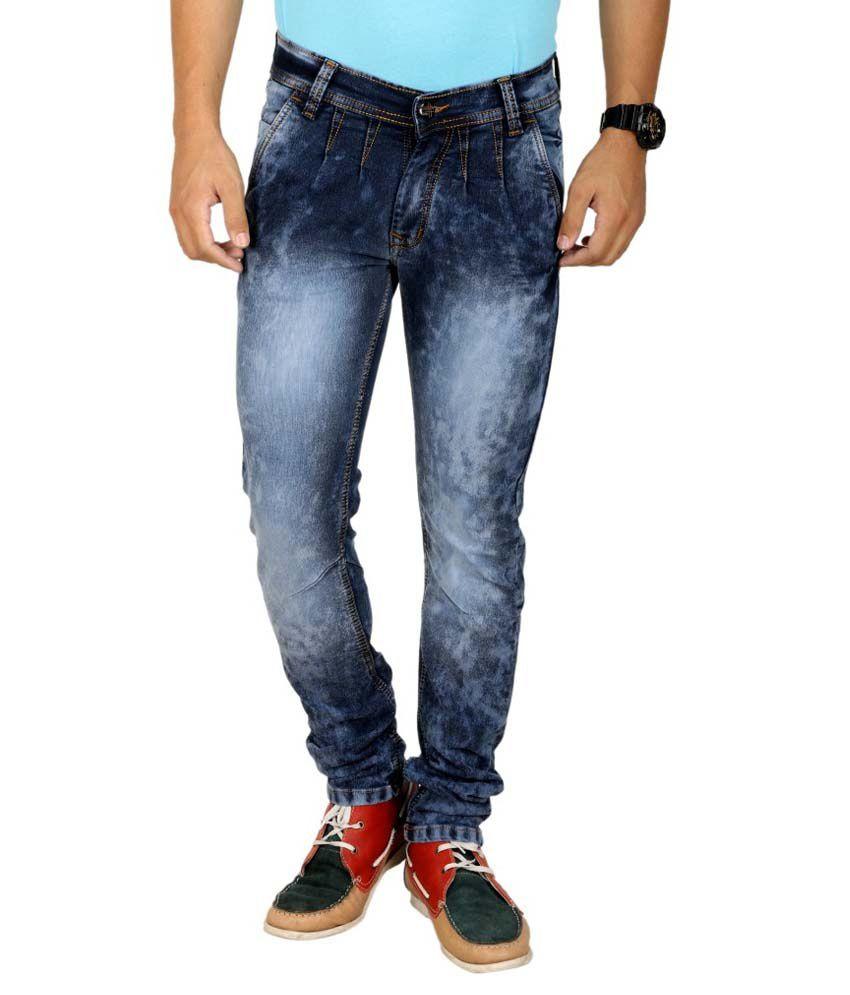 K'live Blue Regular Jeans